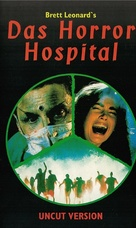 The Dead Pit - German VHS movie cover (xs thumbnail)
