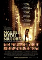 New Year's Eve - Lithuanian Movie Poster (xs thumbnail)