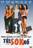 100 Girls - Hungarian DVD movie cover (xs thumbnail)