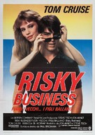 Risky Business - Italian Movie Poster (xs thumbnail)