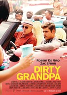 Dirty Grandpa - German Movie Poster (xs thumbnail)