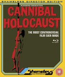 Cannibal Holocaust - British Blu-Ray movie cover (xs thumbnail)