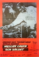 I Walk the Line - Swedish Movie Poster (xs thumbnail)