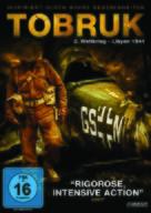Tobruk - German DVD cover (xs thumbnail)