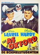 A Chump at Oxford - Belgian Movie Poster (xs thumbnail)