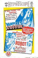 Momia azteca contra el robot humano, La - Combo poster (xs thumbnail)