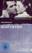 Notorious - German DVD cover (xs thumbnail)