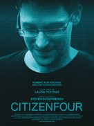 Citizenfour - French Movie Poster (xs thumbnail)