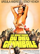 La montagna del dio cannibale - French Movie Poster (xs thumbnail)