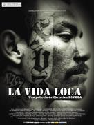 La vida loca - Spanish Movie Poster (xs thumbnail)