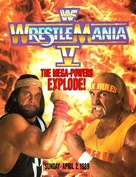 WrestleMania V - DVD cover (xs thumbnail)