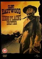 High Plains Drifter - British DVD cover (xs thumbnail)
