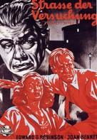 Scarlet Street - German Movie Poster (xs thumbnail)