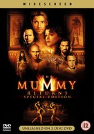 The Mummy Returns - British DVD cover (xs thumbnail)