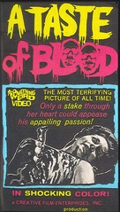 A Taste of Blood - VHS movie cover (xs thumbnail)