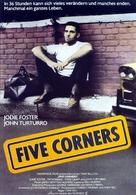 Five Corners - German poster (xs thumbnail)