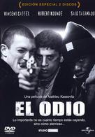 La haine - Spanish DVD movie cover (xs thumbnail)