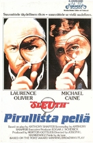 Sleuth - Finnish VHS movie cover (xs thumbnail)