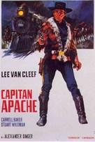 Captain Apache - Spanish Movie Poster (xs thumbnail)