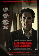 The House That Jack Built - Italian Movie Poster (xs thumbnail)