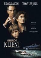 The Client - Czech Movie Cover (xs thumbnail)