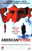 American Psycho - French VHS movie cover (xs thumbnail)