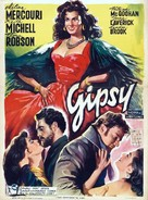 The Gypsy and the Gentleman - Belgian Movie Poster (xs thumbnail)