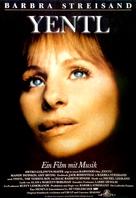 Yentl - German Movie Poster (xs thumbnail)