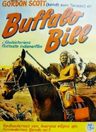 Buffalo Bill, l'eroe del far west - Swedish Movie Poster (xs thumbnail)