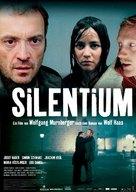 Silentium - German Movie Poster (xs thumbnail)