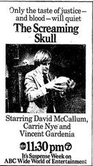 Screaming Skull - Movie Poster (xs thumbnail)
