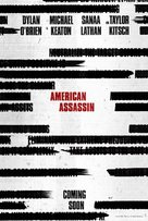 American Assassin - Teaser movie poster (xs thumbnail)