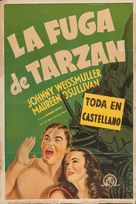 Tarzan Escapes - Argentinian Movie Poster (xs thumbnail)