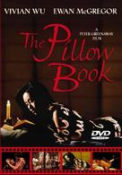 The Pillow Book - DVD cover (xs thumbnail)
