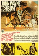 Chisum - Spanish Movie Poster (xs thumbnail)