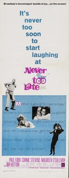 Never Too Late - Movie Poster (xs thumbnail)