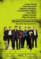Seven Psychopaths - Canadian Movie Poster (xs thumbnail)