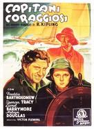 Captains Courageous - Italian Movie Poster (xs thumbnail)
