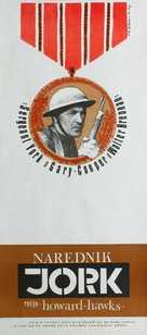 Sergeant York - Yugoslav Movie Poster (xs thumbnail)