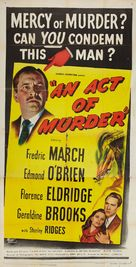 An Act of Murder - Movie Poster (xs thumbnail)