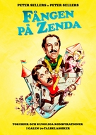 The Prisoner of Zenda - Swedish Movie Poster (xs thumbnail)