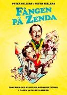 The Prisoner of Zenda - Swedish Movie Poster (xs thumbnail)