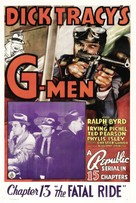 Dick Tracy's G-Men - Movie Poster (xs thumbnail)