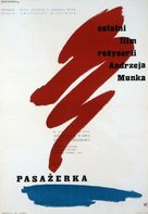 Pasazerka - Polish Movie Poster (xs thumbnail)