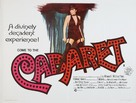 Cabaret - British Movie Poster (xs thumbnail)