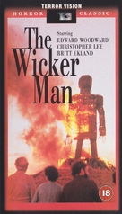 The Wicker Man - British VHS cover (xs thumbnail)