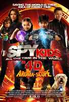 Spy Kids: All the Time in the World in 4D - Movie Poster (xs thumbnail)