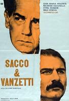 Sacco e Vanzetti - Yugoslav Movie Poster (xs thumbnail)