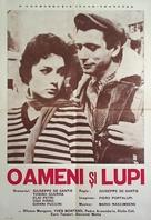 Uomini e lupi - Romanian Movie Poster (xs thumbnail)