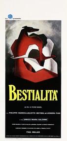 Bestialità - Italian Movie Poster (xs thumbnail)